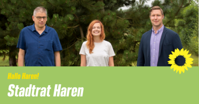 Grüne im Stadtrat Haren